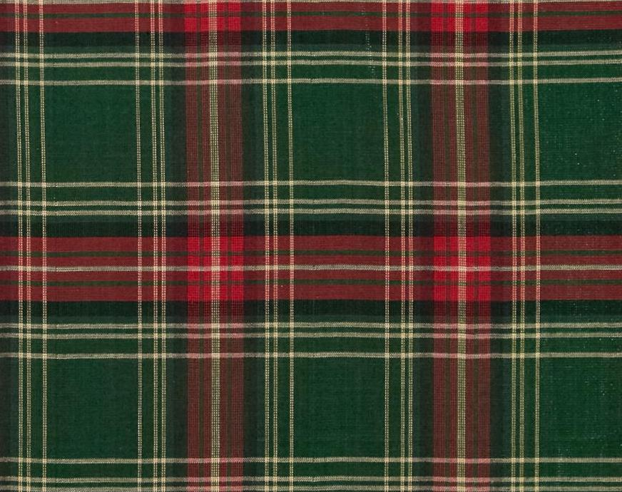 Red And Green Check Placemat