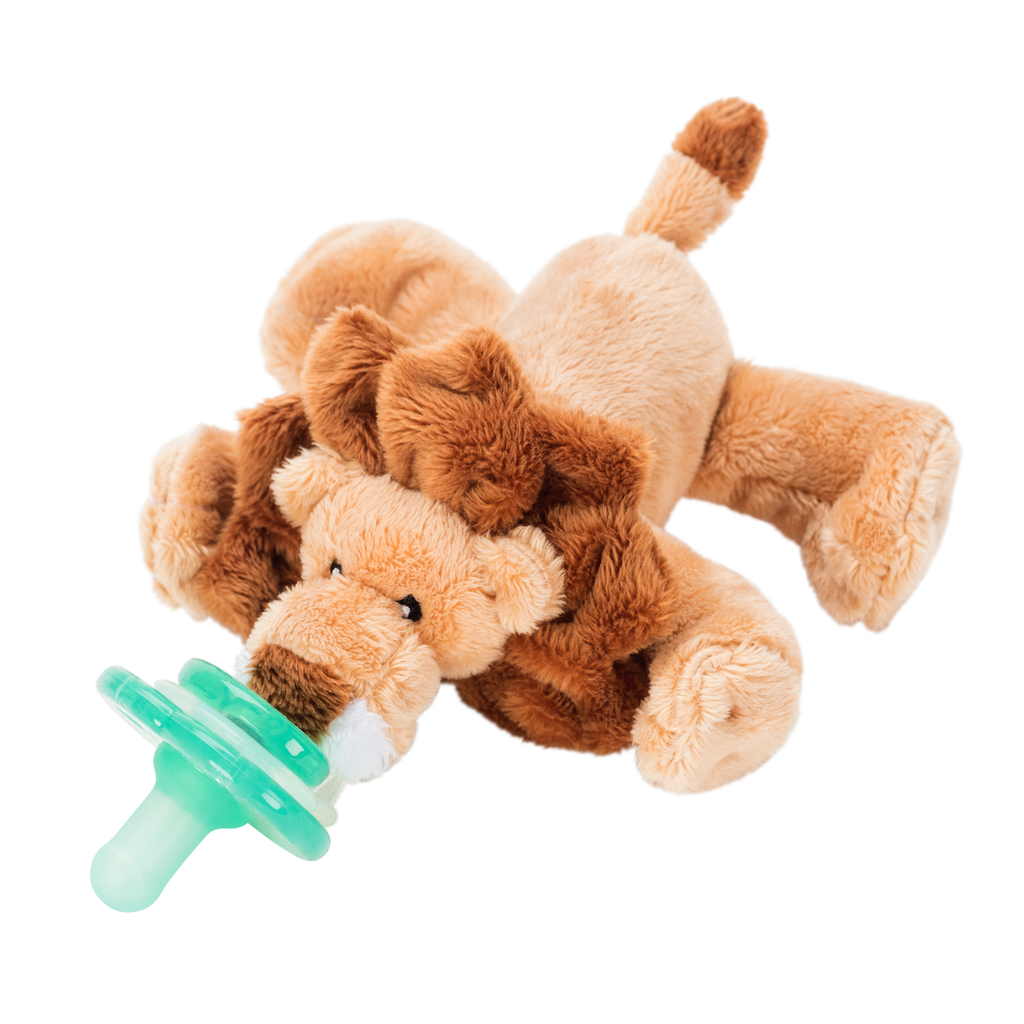 Paci-Plushies Buddies- Leo Lion