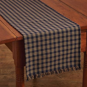 Sturbridge Navy Table Runner