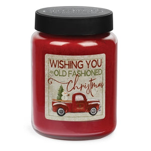 Hollyberry- 26. oz Candle- Wishing You An Old Fashioned Christmas