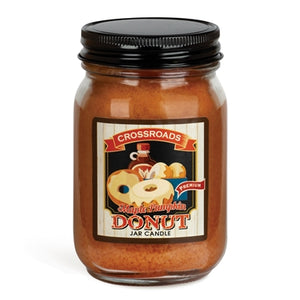 Maple Pumpkin Donut - Pint Mason Jar