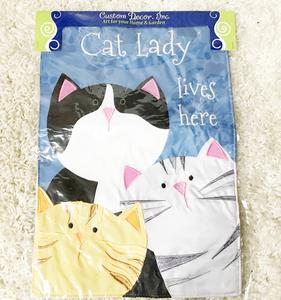 Cat Lady Flag