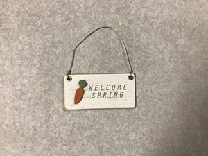 Mini Welcome Spring Sign