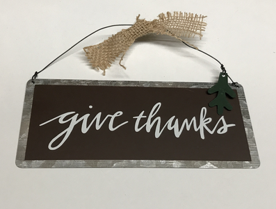 Give thanks Hanger