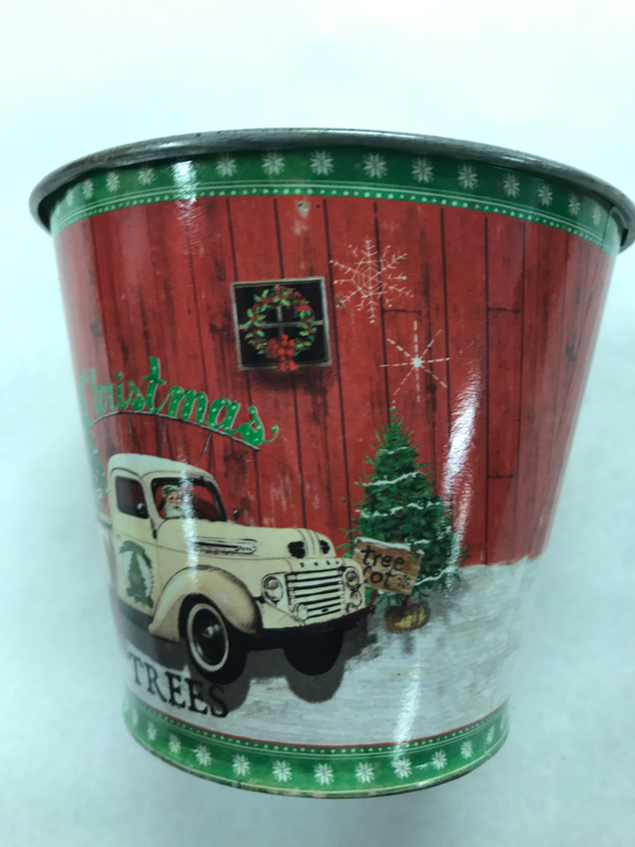 Decorative Christmas Tin (Small)