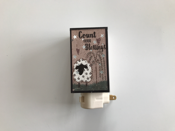 Count Your Blessings Nightlight
