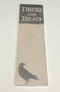Tricks and Treats Notepad