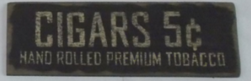 Cigars Sign