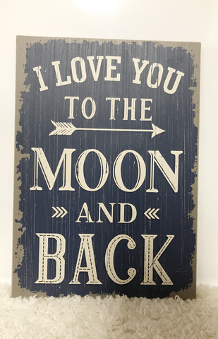 To The Moon Sign