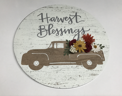 Harvest Blessings Hanger