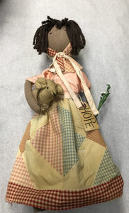 Hope Doll With Mouse