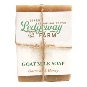Oatmeal & Honey Goat Milk Soap