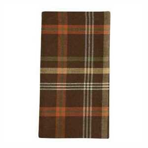 Brown Plaid Napkin
