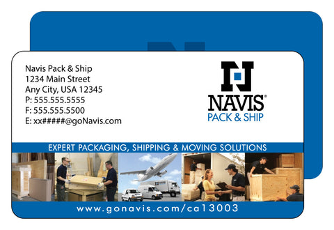 Navis Premium Business Cards