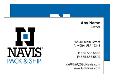 Navis Standard Business Card