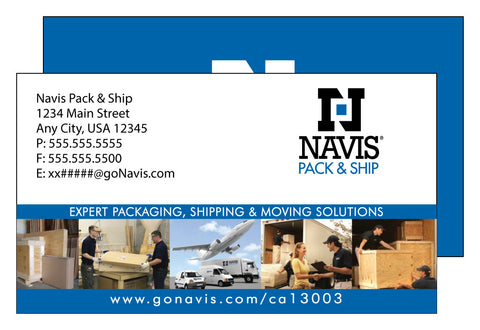 Navis Deluxe Business Card