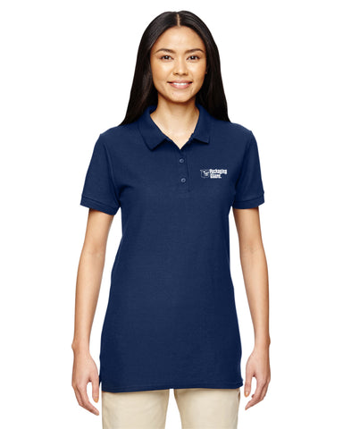 Handle With Care Packaging Store Women's Polo - Gildan