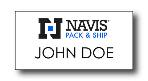 Navis Pack & Ship Name Badges