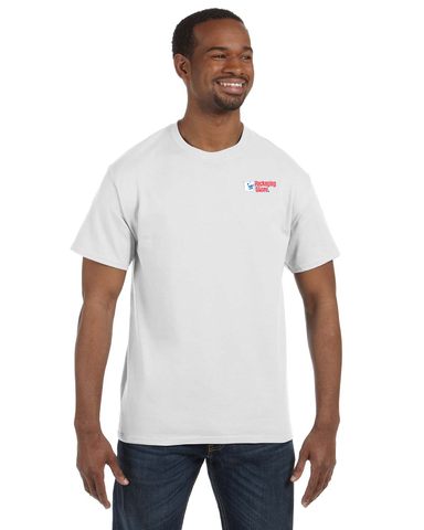 Handle With Care Packaging Store Logo T-shirt