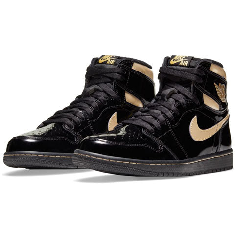 AIR JORDAN 1 BLACK & GOLD