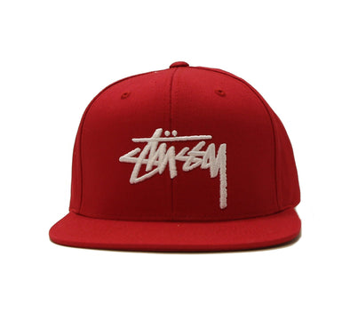 STOCK CAP, RED