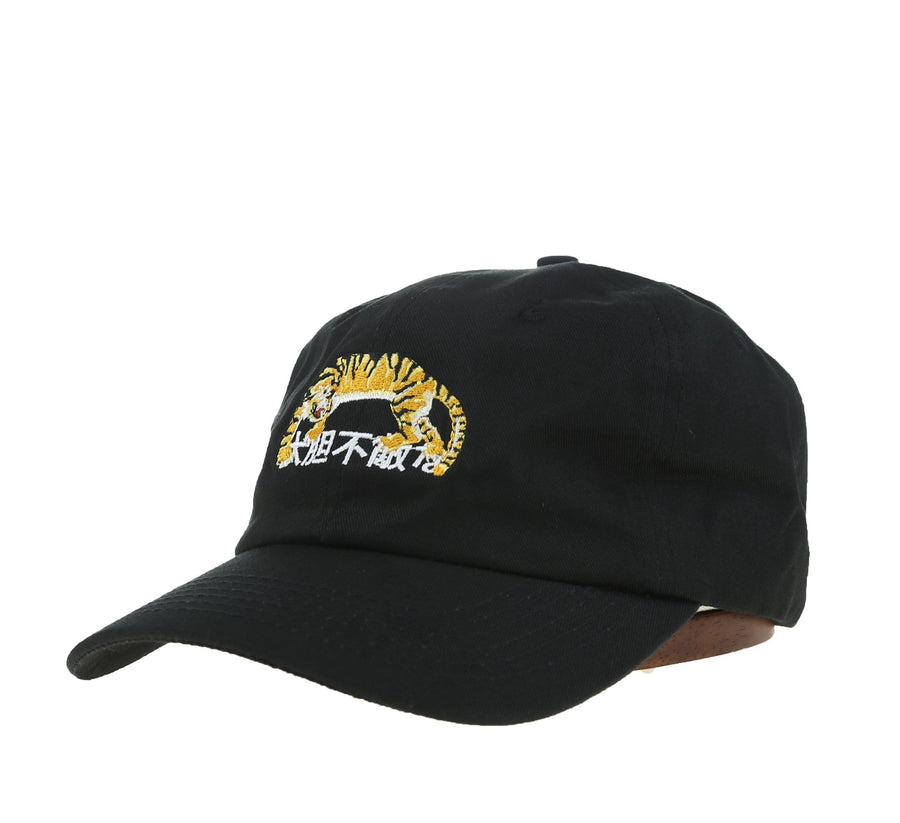 TIGER STRAPBACK, BLACK