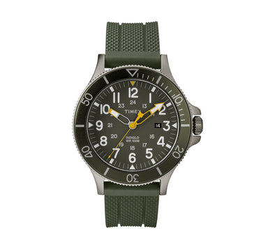 ALLIED COASTLINE 43MM SILICONE WATCH