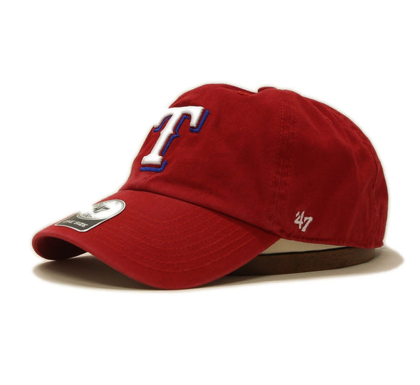 TEXAS RANGERS RED CLEAN UP 47