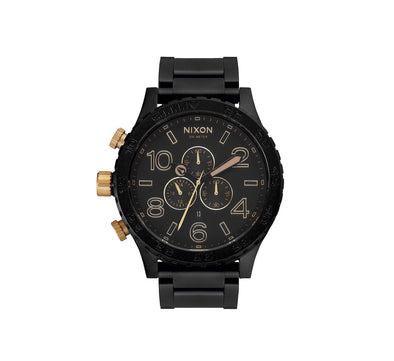 51-30 CHRONO MATTE BLACK/GOLD