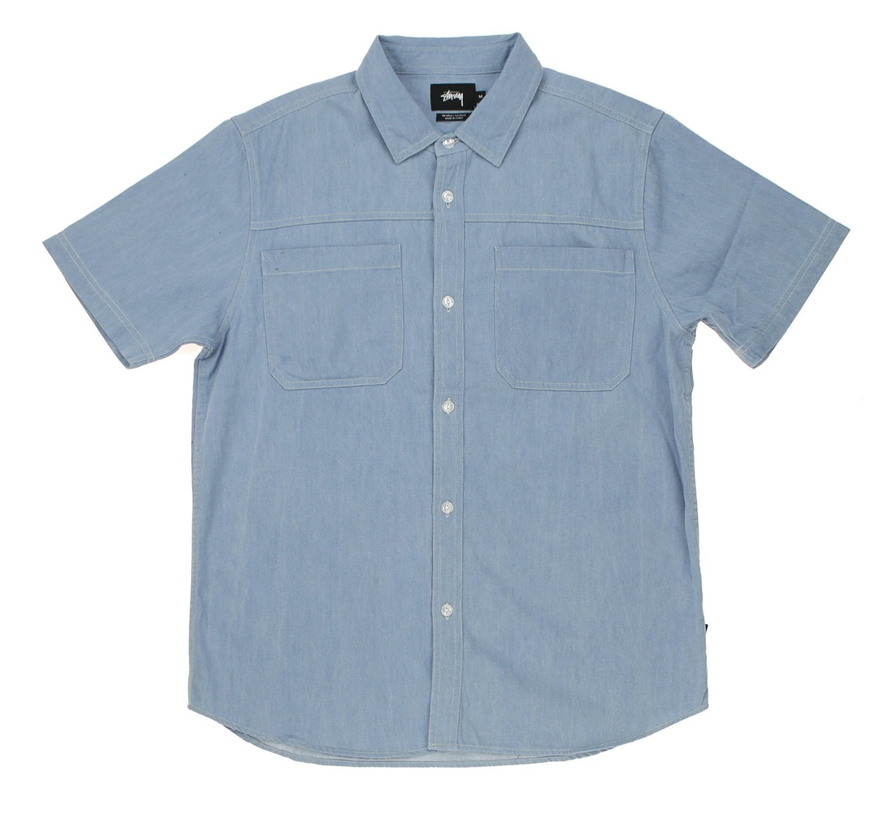 BIG POCKET DENIM SHIRT