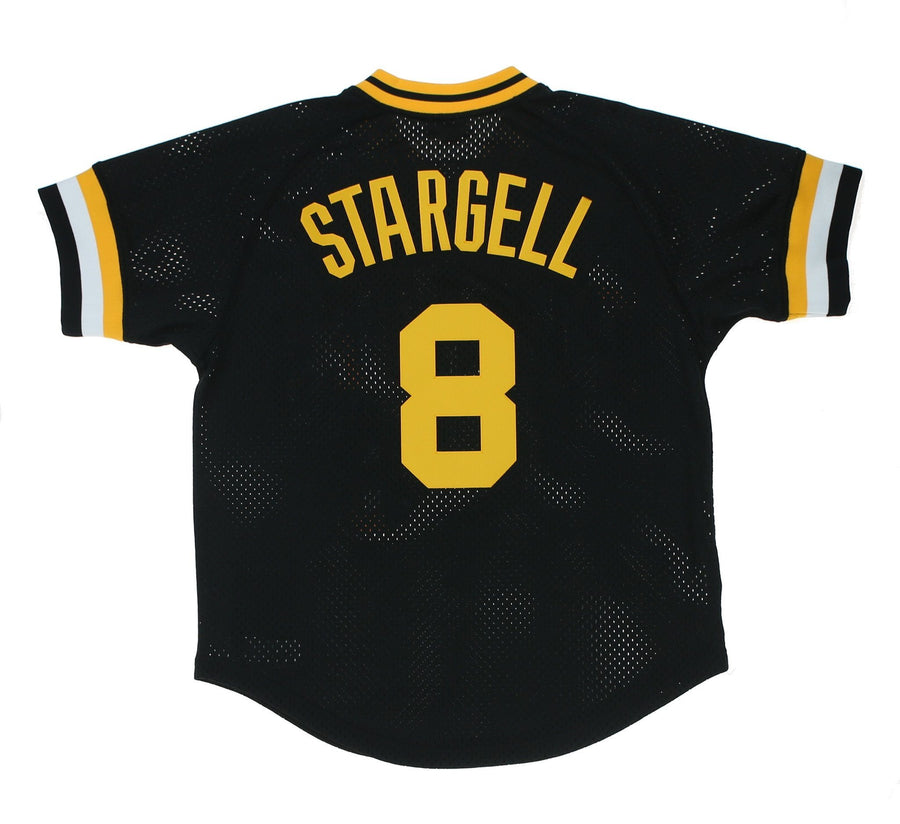 PITTSBURGH PIRATES 1982 WILLIE STARGELL #8 BATTING PRACTICE JERSEY
