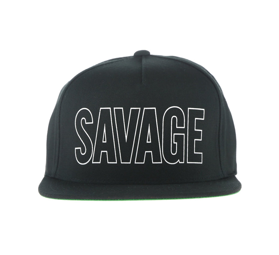 SAVAGE CAP, BLACK
