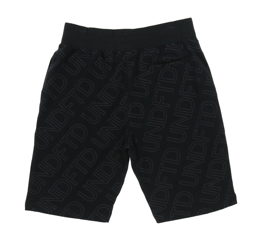 ALL OVER LOGO SHORTS