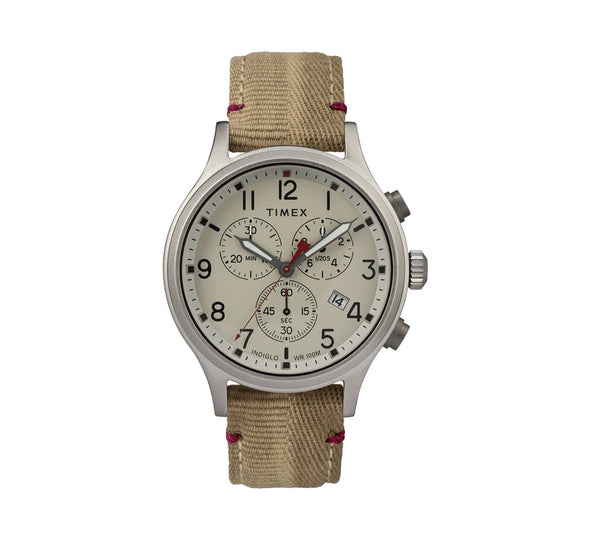 ALLIED CHRONOGRAPH 42MM FABRIC WATCH