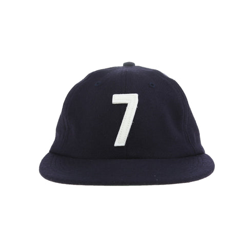 LUCKY SEVEN 6-PANEL CAP, NAVY