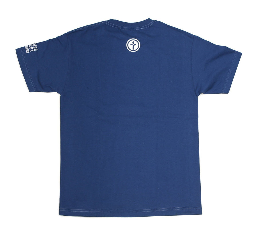 RISE TEE, HARBOR BLUE