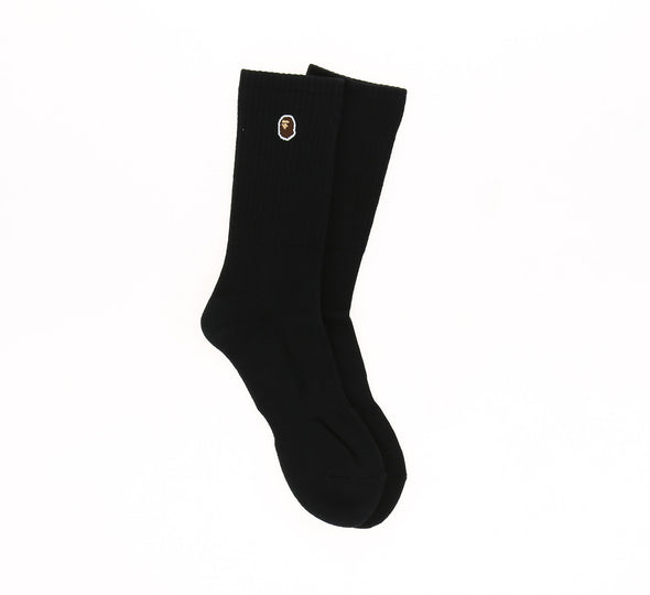 APE HEAD SOCKS, BLACK
