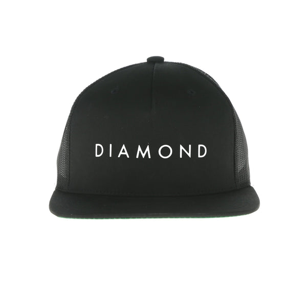 DIAMOND SNAPBACK, BLACK