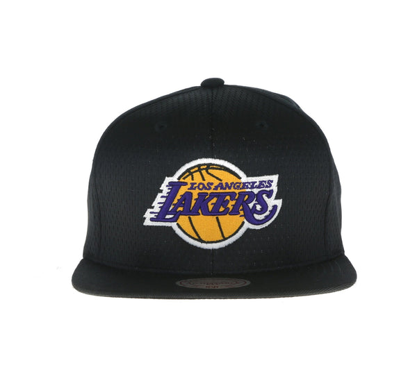 LOS ANGELES LAKERS JERSEY MESH SNAPBACK, BLACK