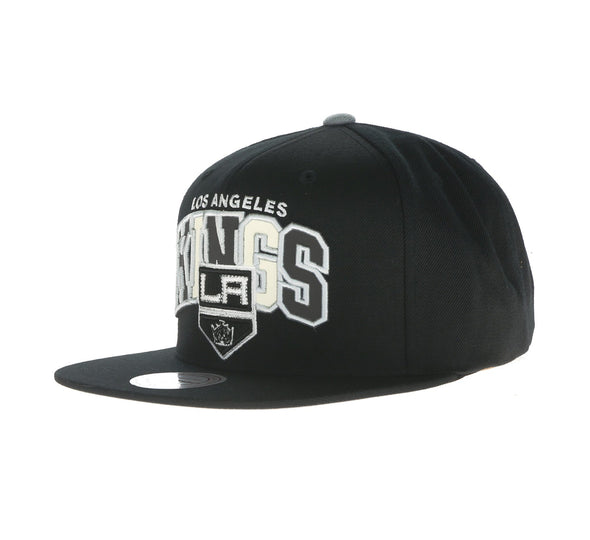LOS ANGELES KINGS REFLECTIVE TRI-POP SNAPBACK, BLACK