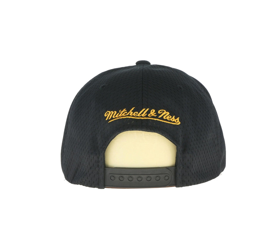 BOSTON BRUINS JERSEY MESH SNAPBACK, BLACK