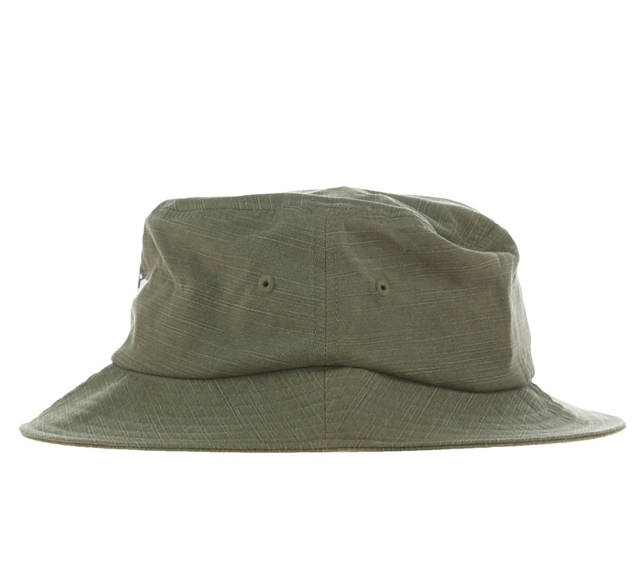 REVERSE TWILL BUCKET HAT