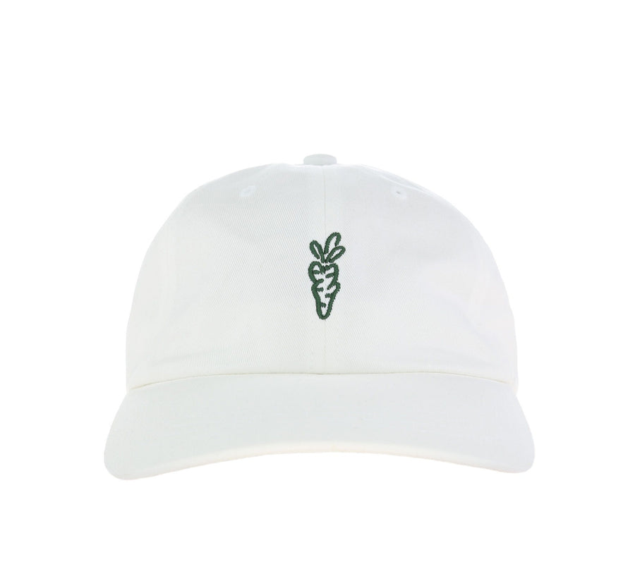 CARROTS X MADRONE DAD HAT, WHITE