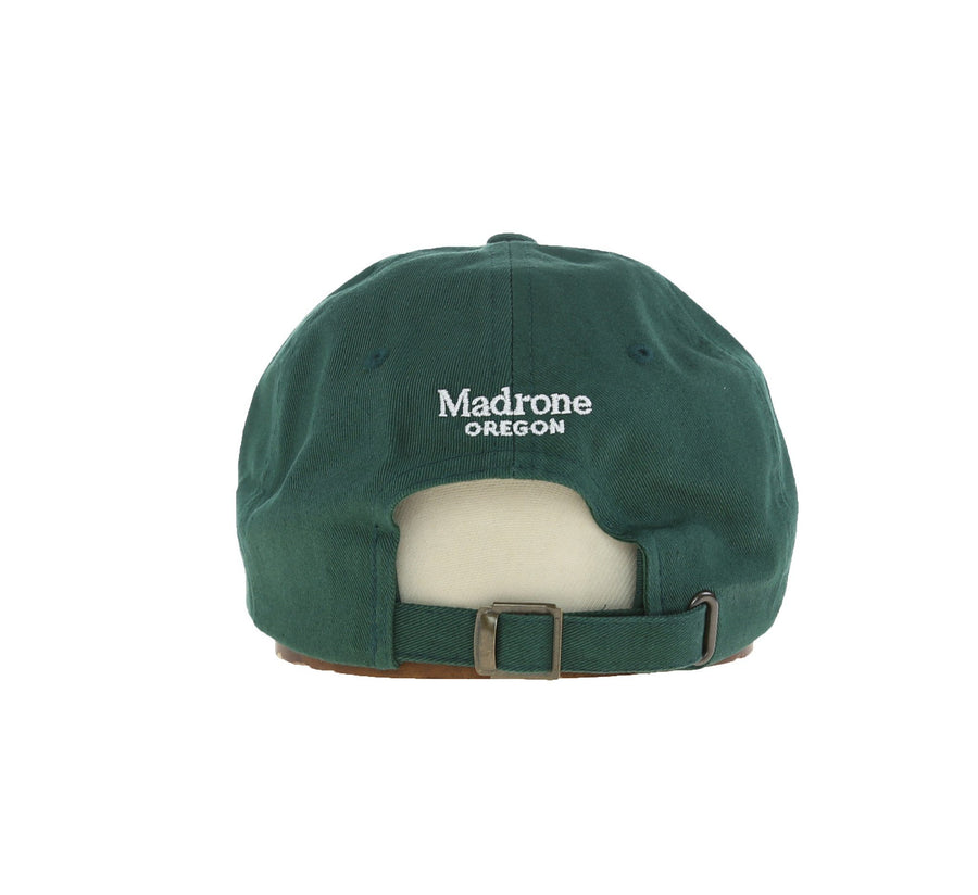 CARROTS X MADRONE DAD HAT, FOREST GREEN