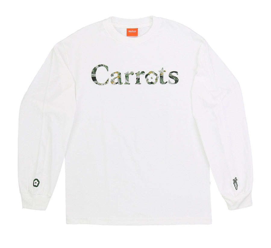 CARROTS X MADRONE WORDMARK LONG SLEEVE