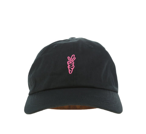 KATAKANA DAD HAT, BLACK