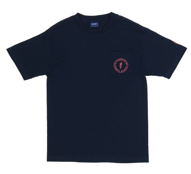 CIRCLE LOGO POCKET TEE