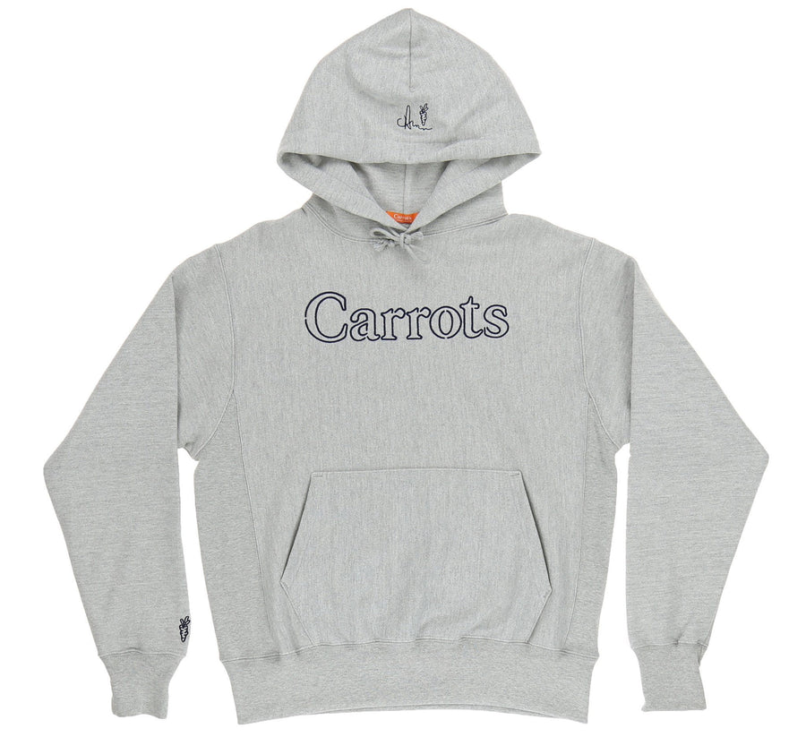 CARROTS NEON HOODY, GREY