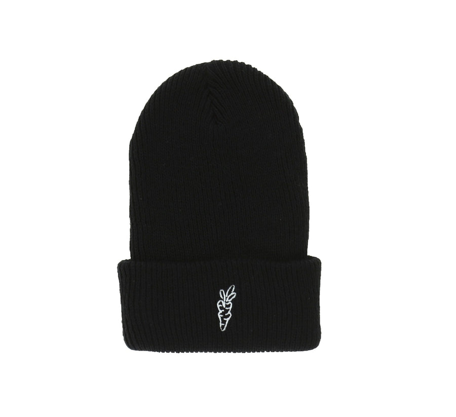 CARROTS LOGO HEAVYWEIGHT BEANIE, BLACK