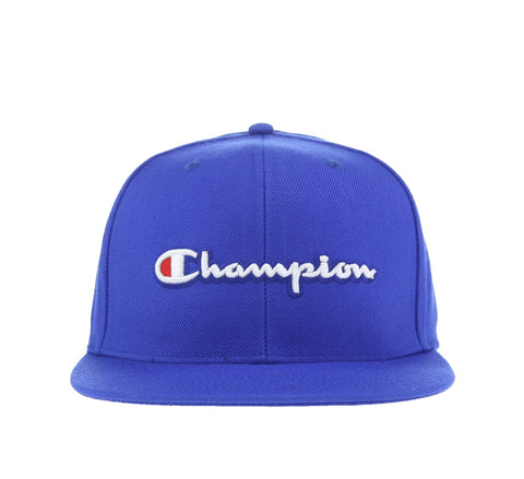 CHAMPION SCRIPT SNAPBACK, ROYAL
